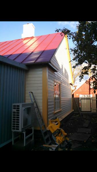 Fassaaditööd,puitfassaadide ehitus,voodrilaua paigaldus,maja soojustamine,puitfassaad,tuulekasti ehitus, voodrilaua paigaldus – Furgard OÜ