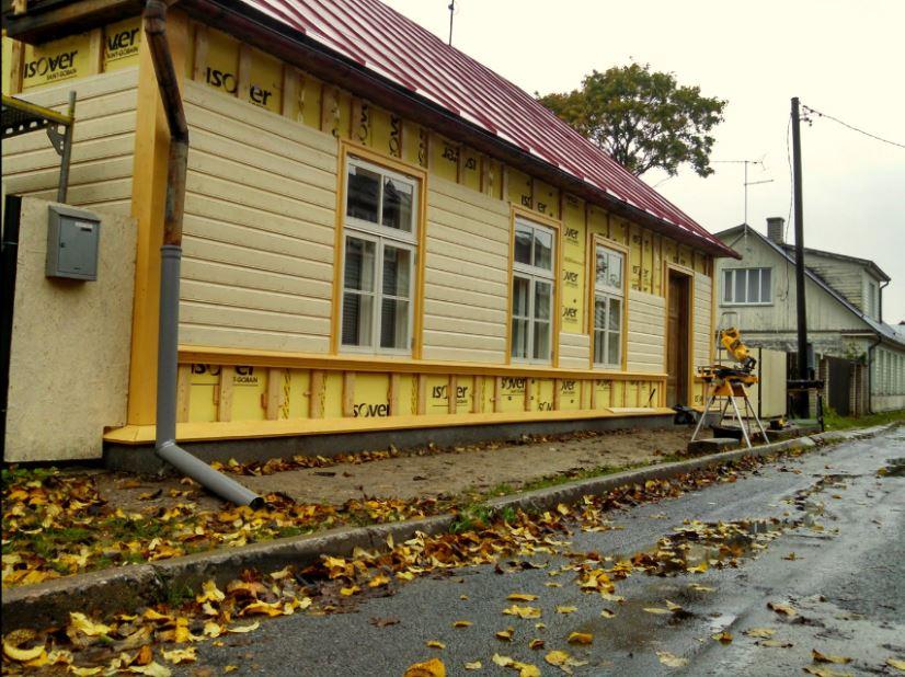 Fassaaditööd,puitfassaadide ehitus ja renoveerimine